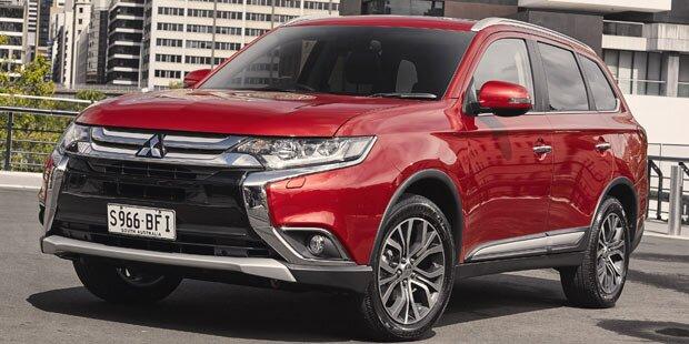 Mitsubishi frischt den Outlander auf