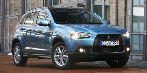 Mitsubishi greift mit günstigem ASX an