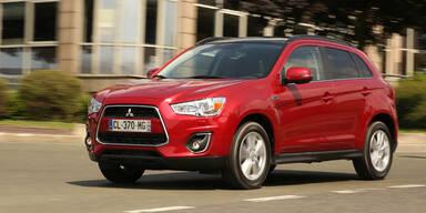 Mitsubishi ASX Invite mit 1,8l Diesel startet