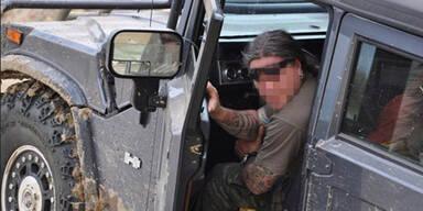 Hummer-Fahrer: Selbstmord in der Zelle
