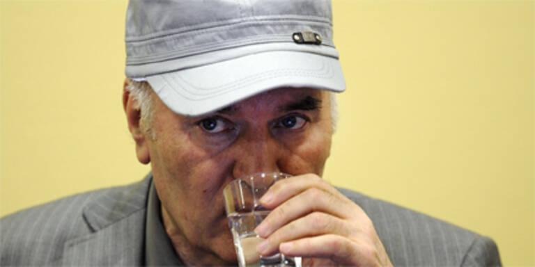 Mladic ins Krankenhaus eingeliefert