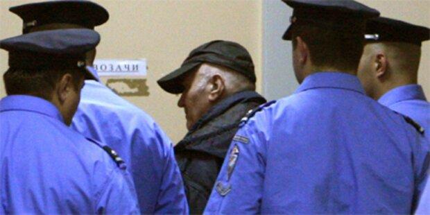 Mladic machte sich vor Gericht in die Hose