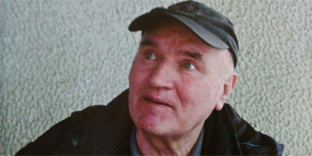 Mladic: Erdbeeren und TV im Gefängnis