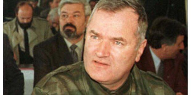 Ratko Mladic in Serbien lokalisiert