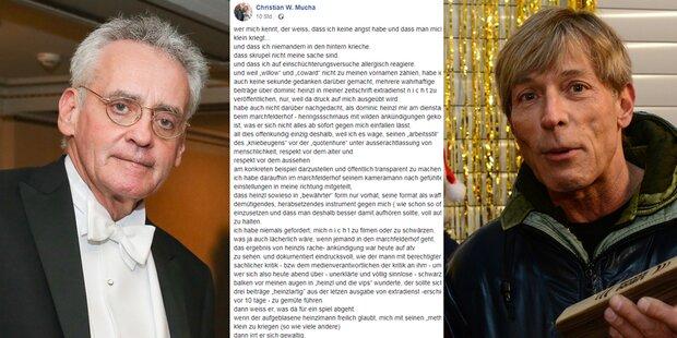 'Quotenhure': Wilder Streit zwischen Mucha & Heinzl