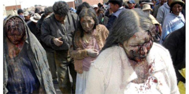 Mob lyncht zwei Diebe in La Paz
