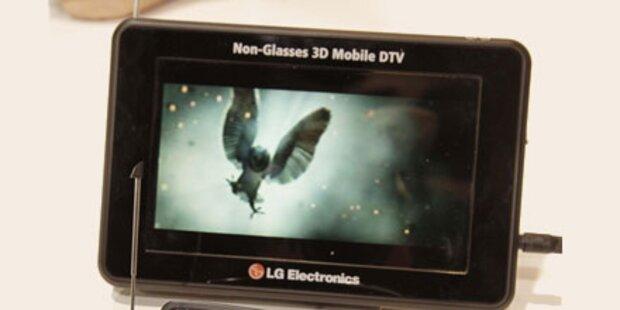 Erster mobiler 3D-TV ohne Brille von LG