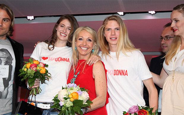 Luca & Anna gewinnen MADONNA-Modelcontest