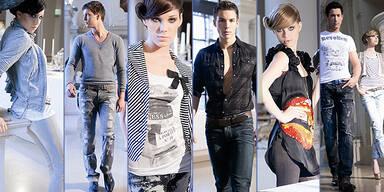 Model-Contest FinalistInnen: Denim-Shooting