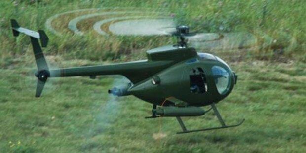 Modellpilot geriet mit Hand in Rotor