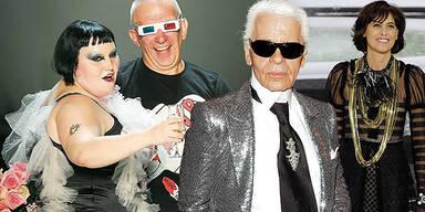 Modeschöpfer Paris Lagerfeld