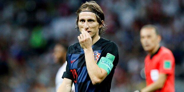 WM-Finale: Kroaten mit offener Rechnung