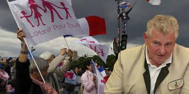 FPÖ-Politiker bei Krawall-Demo in Paris