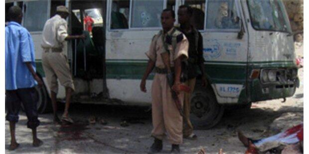 14 Tote bei Selbstmordanschlag in Mogadischu