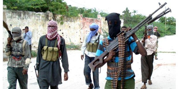 Straßenkämpfe in Somalia - über 20 Tote
