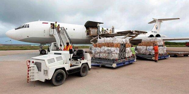 Somalia: Erstes UNHCR-Flugzeug gelandet
