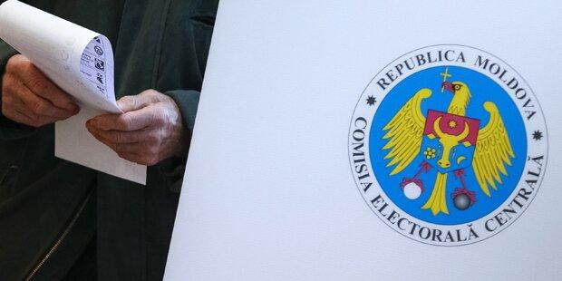 Pro-EU-Parteien in Moldau voran