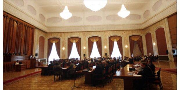 Moldawisches Parlament aufgelöst
