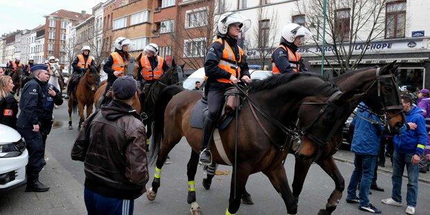 Krawalle in Brüsseler Molenbeek