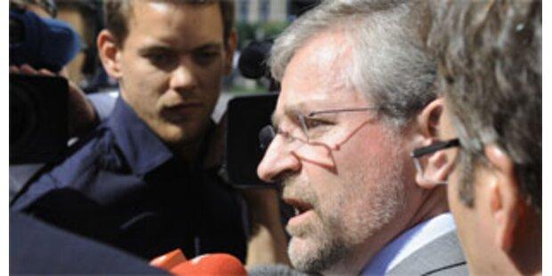 Molterer will wissen, wer SPÖ führt