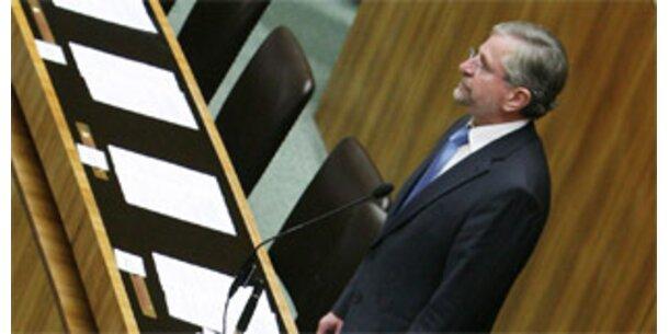 Parlament beschloss einstimmig Banken-Paket