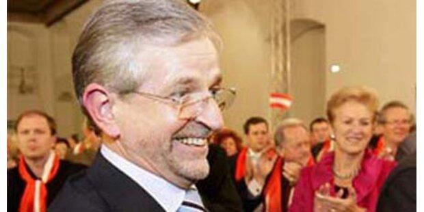 Pröll will Molterer als EU-Kommissar