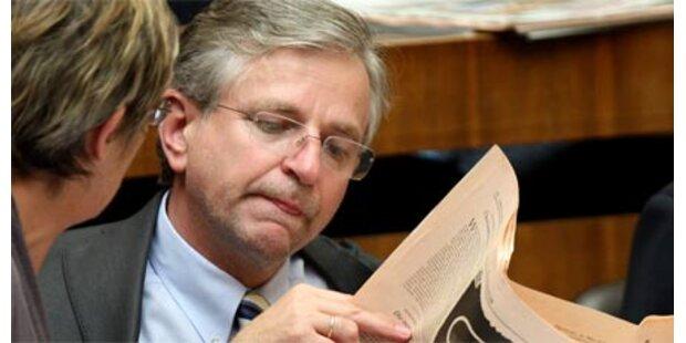 Molterer als EU-Kommissar unerwünscht