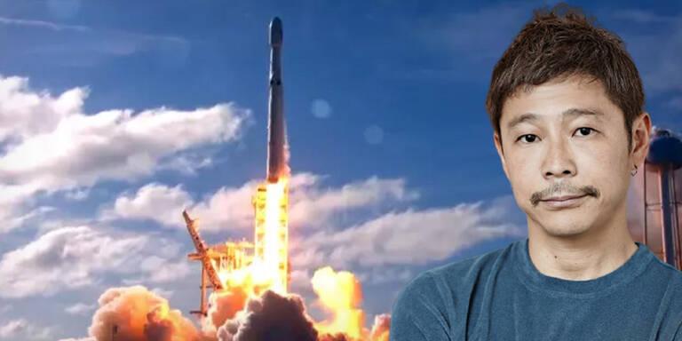 Milliardär sucht Begleiterin für Reise zum Mond