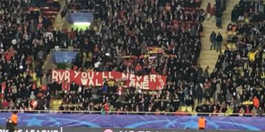 Monaco-Fans sorgen für Gänsehaut-Moment