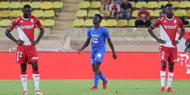 Monaco verliert vor Sturm-Duell in der Liga mit 0:2
