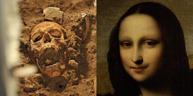 Ist das der Schädel der Mona Lisa?
