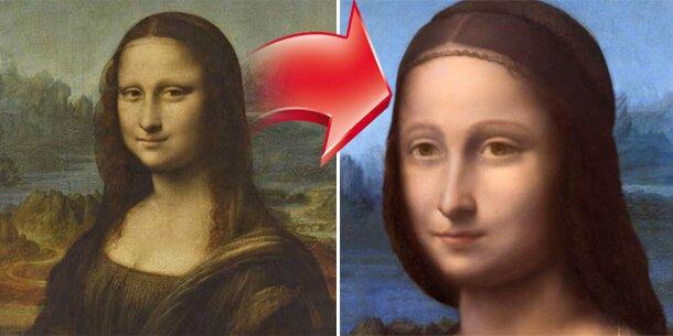 Unter Mona Lisa versteckt sich 2. Frau - Ausdrucken - Österreich ...