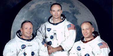 Michael Collins und Apollo-Kollegen