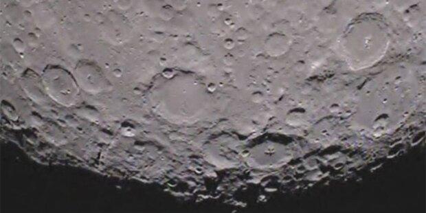 NASA zeigt erstes Video von Mond-Rückseite