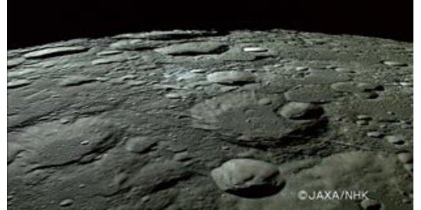 """""""Mann im Mond"""" schon vier Mrd. Jahre alt"""