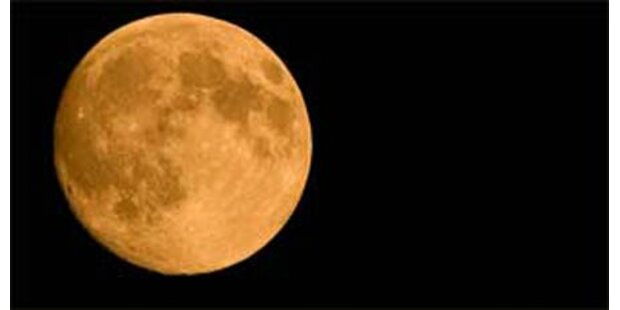 Mehr Wasserstoff am Mond als erwartet