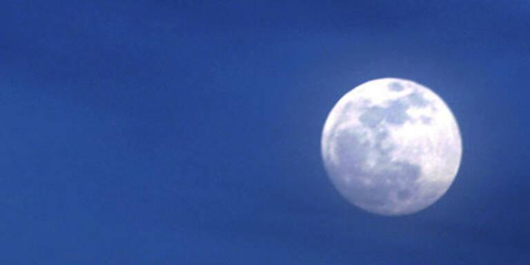 Mond so nahe wie schon lange nicht
