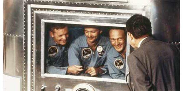 Drama um die Mond-Fahrer