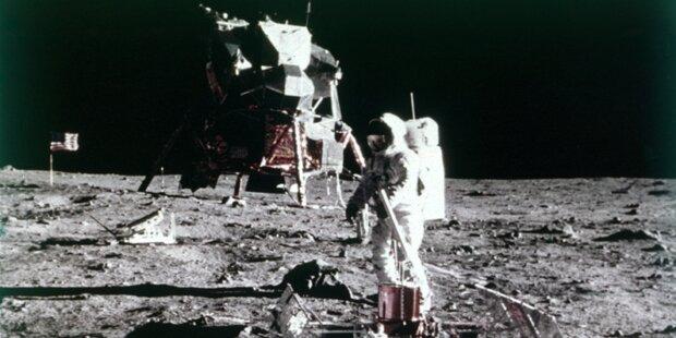 Mondlandung: Die Verschwörungstheorien im Check