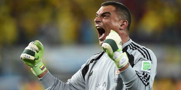 Kolumbien-Keeper stellte WM-Rekord auf