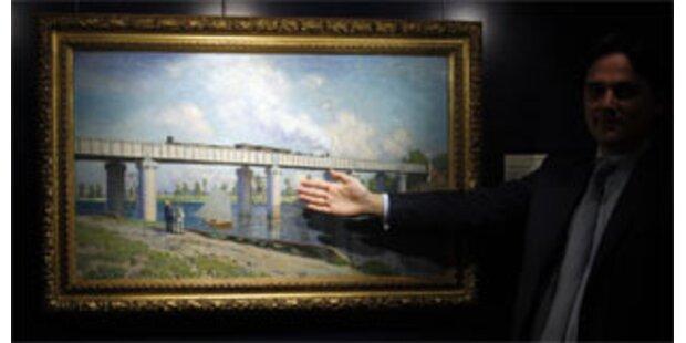 Monet und Giacometti erzielen Rekord-Preise