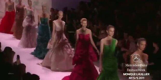 New York Fashion Week SS 2011: Monique Lhuillier