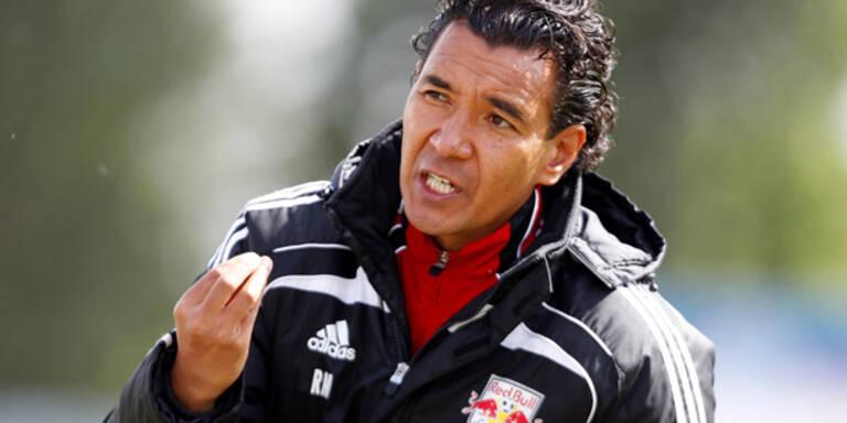 Moniz tritt gegen Salzburg nach
