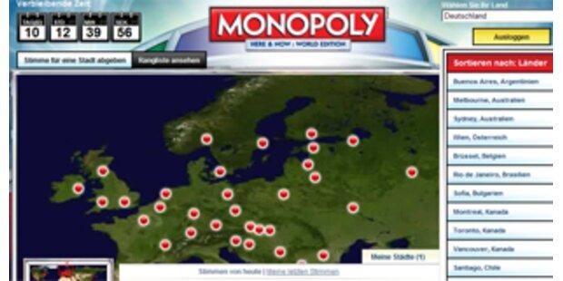 Für Wien als Monopoly-Stadt voten