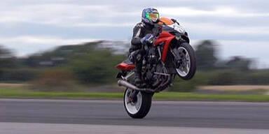 Wheelie bringt Biker ins Gefängnis