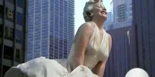 Marilyn Monroe unter den Rock schauen
