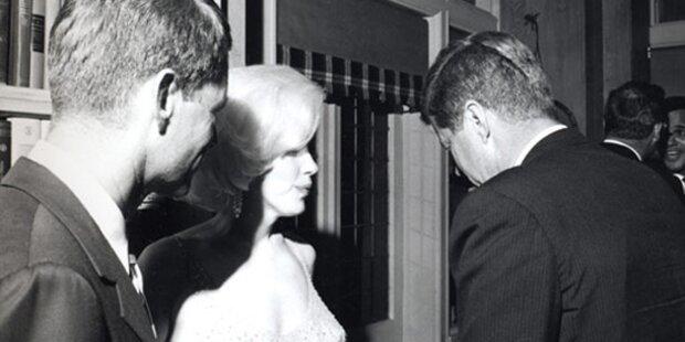 Monroe: Dreier mit Kennedy-Brüdern?