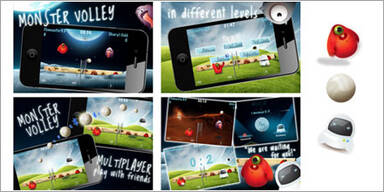 "iPhone-Game ""Monster Volley"" auf Rekordkurs"