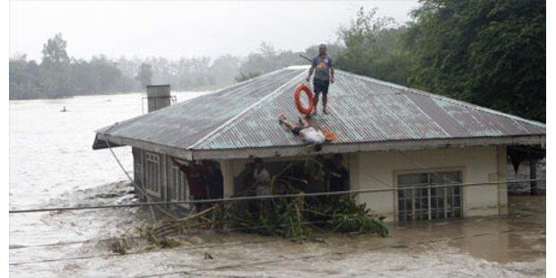 Monsun fordert 9 Tote auf Philippinen