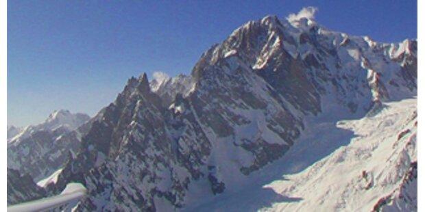 Alpinist stürzt am Mont Blanc in den Tod